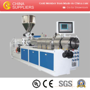 Hot Selling Twin Screw Extruder for Pipe pictures & photos