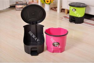 High Quality Promotional Environmental Protection Plastic Waste Bin (5.5L) pictures & photos