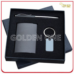 Promotion Card Holder and Key Chain Gift Set pictures & photos