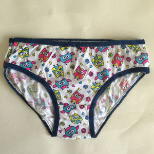 100% Pure Cotton Cute Preteen Little Girl Underwear pictures & photos