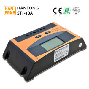 Solar Charge Controller Regulator 12/24V Input 10A (ST1-10A) pictures & photos