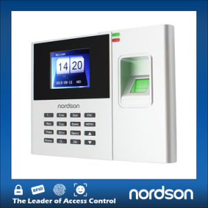 Easy to Operate High Speed Recognition Fingerprint Time Attendance with USB LED Screen pictures & photos