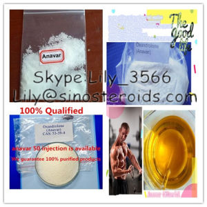 Anavar 50 Anabolic Steroids Injectable Anavar 50mg/Ml pictures & photos