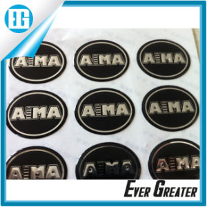 Custom Embossed Dome Sticker for Promotion pictures & photos