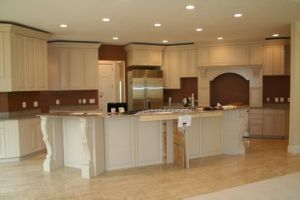 Maple Solid Wood Kitchen Base Cabinets pictures & photos