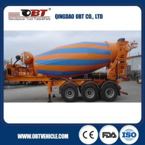 Special Type Concrete Mixer Semi Trailer pictures & photos