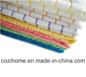 High Quality Microfiber Towel Microfiber Cloth for Easy Cleaning (4010) pictures & photos