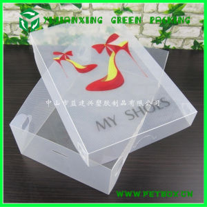 Plastic PP Transparent Shoes Packaging Box pictures & photos