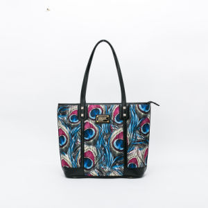 New arrival peacock feather pattern women handbag(QQ8003/4/5) pictures & photos