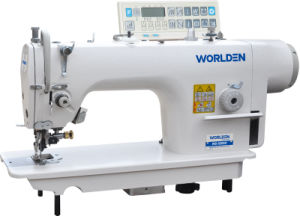 Wd-5200d High Speed Side Cutter Lockstitch Sewing Machine pictures & photos
