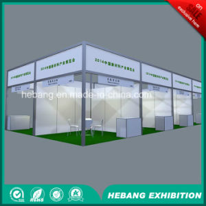 Hb-L00012 3X3 Aluminum Exhibition Booth pictures & photos
