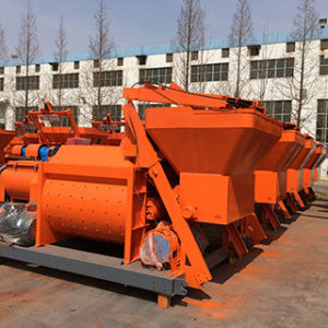 Trade Assurance Js500 Industrial Cement Mixer/ Twin Shaft Concrete Mixer pictures & photos