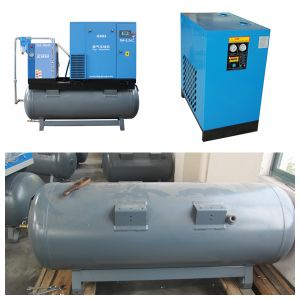 Belt Drive Screw Air Compressor Prices pictures & photos