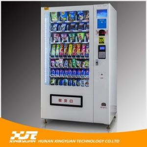 Hot Sale, Snacks and Beverages Combo Vending Machine pictures & photos
