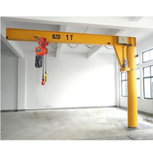 Kixio 1~10 Ton 3~10m Span Jib Crane with Electric Chain Hoist pictures & photos