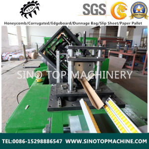 China Cardboard Paper Edge Protector Machine pictures & photos