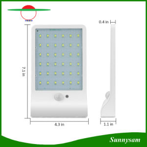 3.5W Ultrathin 36 LED Outdoor Solar Garden Street Lights Wall Mounted Security Solar Lamp with Motion Sensor pictures & photos
