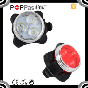 Reachargeble LED Tail Light USB Bicycle Basket Light pictures & photos