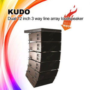 "High Quality Kudo Dual 12"" Line Array Speaker, Line Array System pictures & photos"
