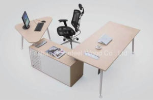 L Shape Manager Director Office Desk Furniture (HF-SI005) pictures & photos