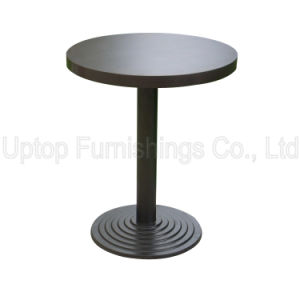 Cafe Furniture Black Starbucks Round Table for Sale (SP-RT291) pictures & photos
