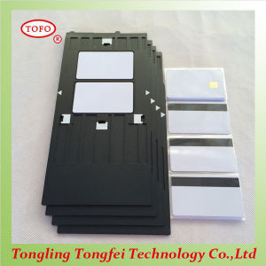 Hico Magnetic Stripe Card with 5528 Chip for Access Control pictures & photos