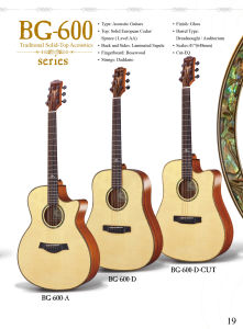 High Quality with Best Price Solid Top Acoustic Guitar pictures & photos