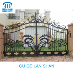 High Quality Crafted Wrought Iron Gate/Door 018 pictures & photos