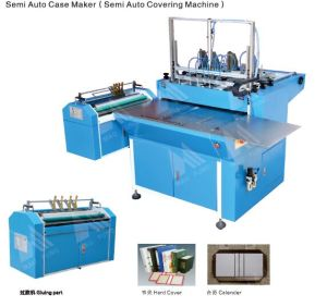 Semi-Automatic Hardcover Maker Machine HS-Scm500A pictures & photos