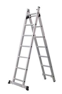 Aluminum Household Ladder with 14 Steps pictures & photos