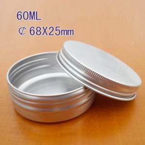 60ml Round Aluminum Box with Screw Lid pictures & photos