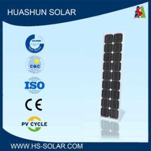 Huashun 40-50W 125X125 Monocrystalline Solar Panel (SH-50S5-6)