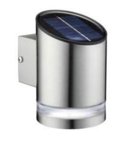 Solar Pillar Stainless Steel Wall Light -S2w04 pictures & photos