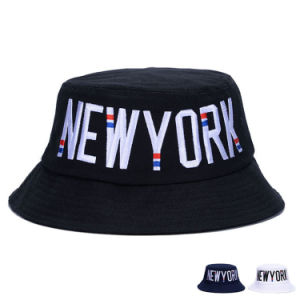 High Quality Fashion Colorful Embroidered Cotton Twill Bucket Hat (YKY3224) pictures & photos
