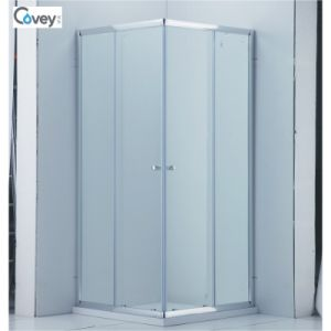 Square Sliding Shower Enclosure/Two Sliding Door Bathroom (CVS047-S)