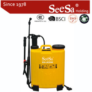 20L Knapsack/Backpack Manual Hand Pressure Agricultural Sprayer (SX-LK20K) pictures & photos
