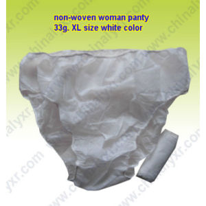 Ly Disposable Nonwoven Woman Panty pictures & photos