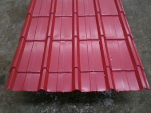 Color Coated Roofing (Corrugated) Steel Sheet pictures & photos