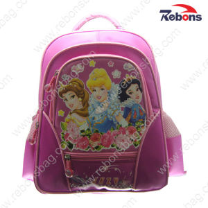 Fashion New Design Beautiful Girl Princess School Backpack Bags pictures & photos