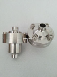 "3/4"" Sanitary Check Valve with Middle Flange pictures & photos"