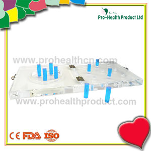 9-Hole Parkinson′s Disease Physical Therapy Equipment Plastic Pegboard pictures & photos