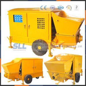 Offer Low Price 10m3 New Chassis Concrete Mixer Pump pictures & photos