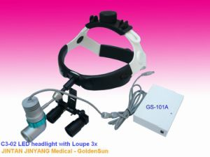 Ent Dental Surgery Binocular Glasses Magnifiers with LED Head Light pictures & photos