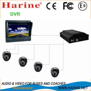 Bus/Car/Coach Security/Surveillance CCTV Camera Monitor DVR pictures & photos