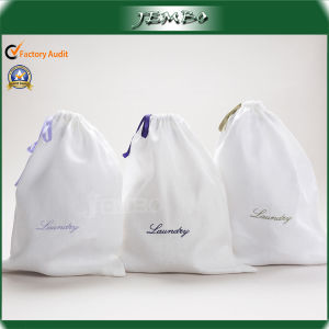 Cheap Recycled Hotel Use Non Woven Laundry Drawstring Bag pictures & photos