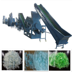 Plastic Pet Bottles Flakes Crushing, Washing and Recycling Machines Machine
