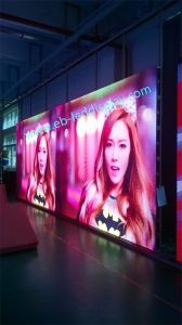 Full Color 500*1000mm Aluminum Cabinet LED Display Board for Indoor Events (P3.91/P4.81/P5.68) pictures & photos
