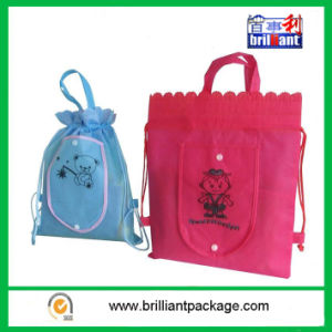 Promotional Drawstring Bag with Easy to Shopping pictures & photos