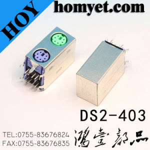 Double DIN Connector with Steel Casing for Video Products pictures & photos