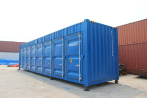 Open Side 40 Feet High Cube Storage Shipping Container pictures & photos